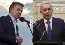 Uribe cuestiona Santos
