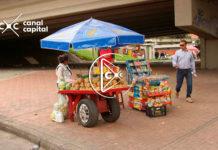 vendedores informales