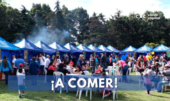 La gastronomía de las plazas de mercado llega al Parque Simón Bolívar
