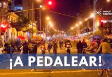 Ciclovía nocturna en el Festival de Verano