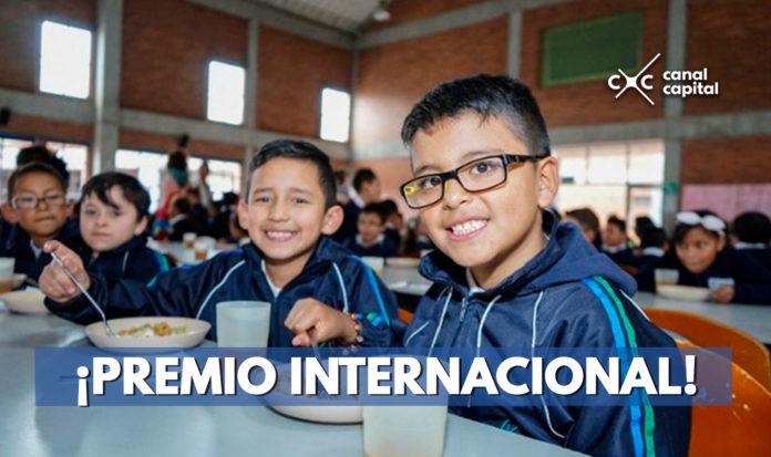 OEA premia a la Secretaría de Educación de Bogotá por su programa de Alimentación Escolar