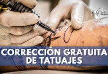 corrección gratuita de tatuajes de Bogotá
