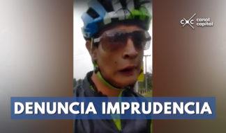 ciclista paralímpico denuncia amenazas