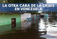crisis en venezuela con inundaciones