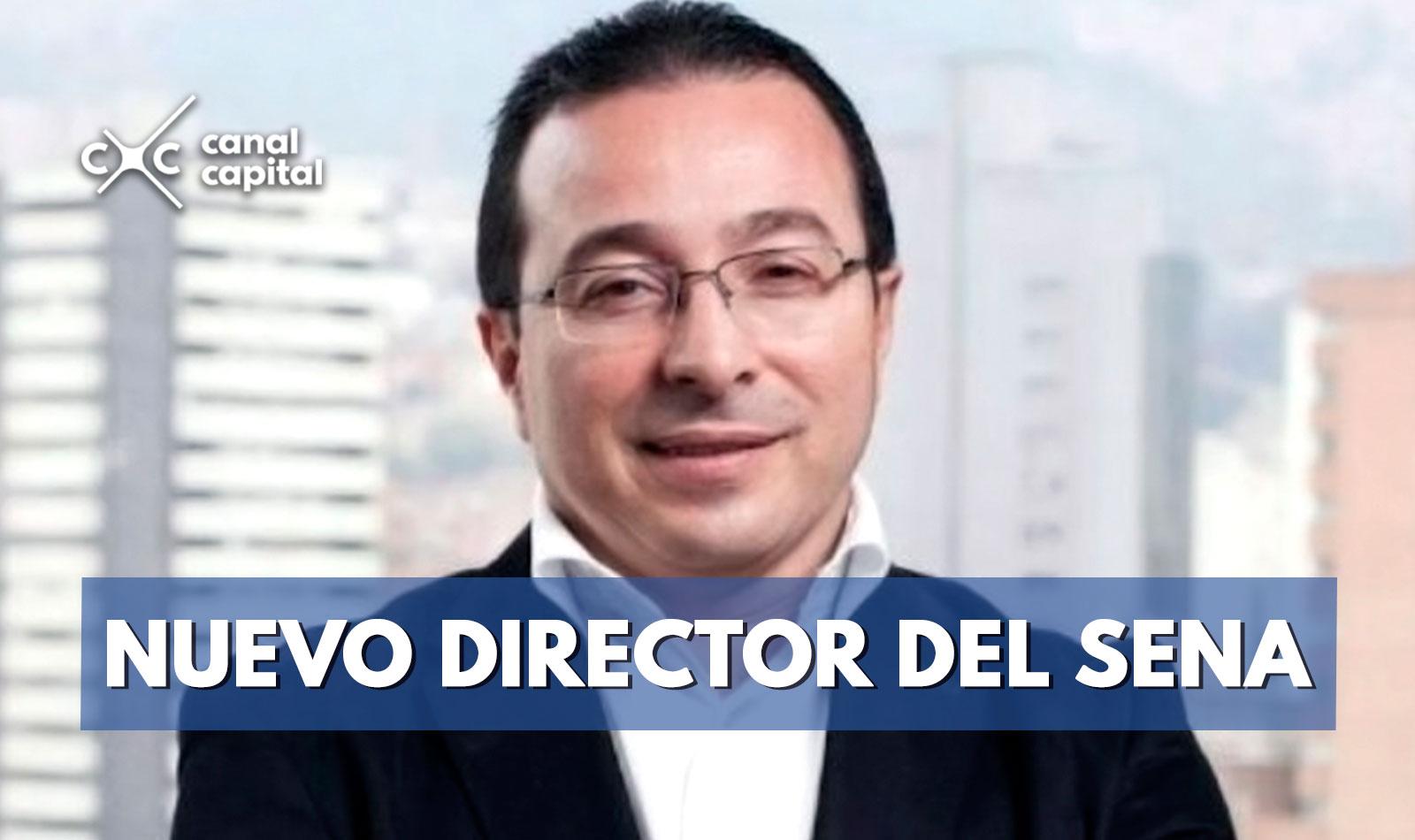 Carlos Mario Estrada será el nuevo director del SENA