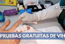 secretaría de salud ofrece pruebas de VIH