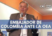 alejandro ordoñez, nuevo embajador de colombia ante la oea