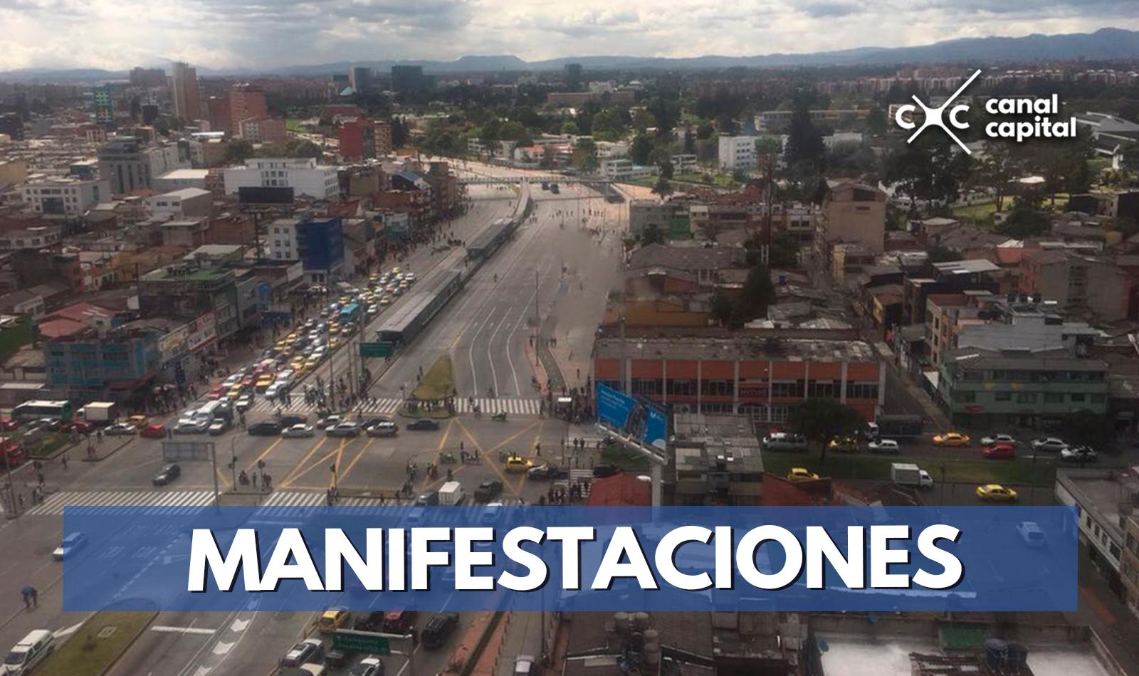 Dos Estaciones De Transmilenio Cerradas Por Manifestaciones En La Calle 26