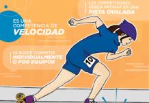 Maratón de Patinaje en el Festival de Verano