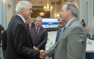 Alcalde Peñalosa y ministro de Seguridad Pública de Brasil intercambian experiencias en seguridad