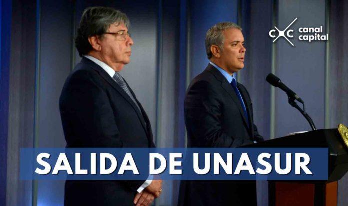En seis meses se hará efectivo retiro de Colombia de Unasur