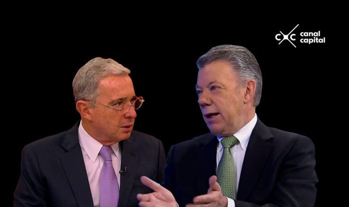 Santos tiene una opinión favorable mayor a la de Uribe.