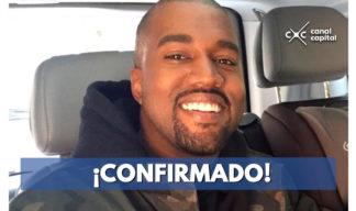 Confirmado: Kanye West está en Colombia