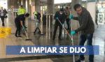colados en TransMilenio