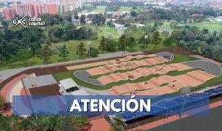 Inicia la construcción de la primera pista profesional de BMX de Bogotá