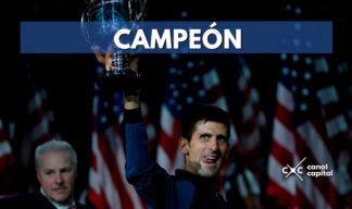 Djokovic ganó el Abierto de los EEUU con triunfo frente a Del Potro