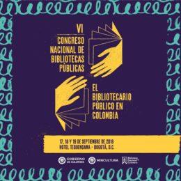 Bogotá será sede del VI Congreso Nacional de Bibliotecas Públicas