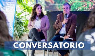Conversatorio en el jardín botanico