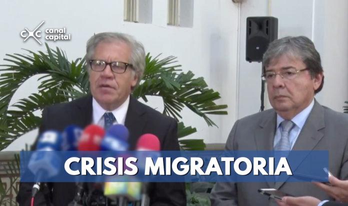 Luis Almagro llega a Colombia para abordar éxodo venezolano