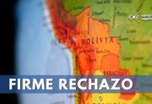 Bolivia rechaza incursión militar