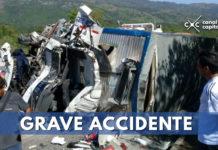 Grave accidente en Guaduas