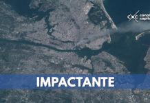 Fotografías: ataque del 11 de septiembre desde los satélites de la NASA