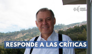 Alejandro Ordóñez responde a las críticas