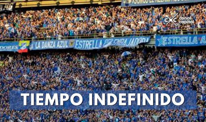 Prohíben ingreso de las barras de Millonarios a los estadios de Bogotá