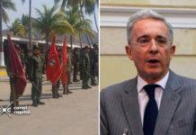 uribe se dirige al ejército de venezuela