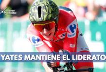 Colombianos ceden tiempo luego de contrarreloj en la Vuelta a España