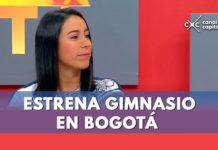 Mariana Pajón estrena gimnasio en Bogotá