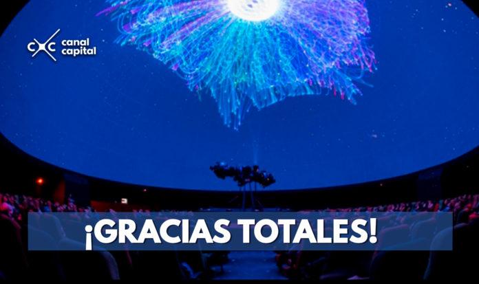 Homenaje láser a Soda Stereo en el Planetario