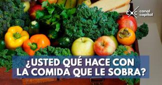¿Qué pasa con el desperdicio de alimentos en Colombia?