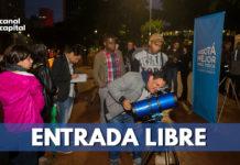 jornada astronómica en cinco localidades de Bogotá