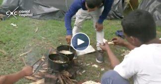 campamento de Bogotá