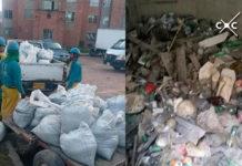 encuentran toneladas de basura en acueducto de Soacha