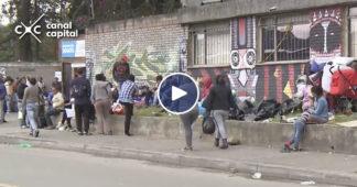 venezolanos desalojados