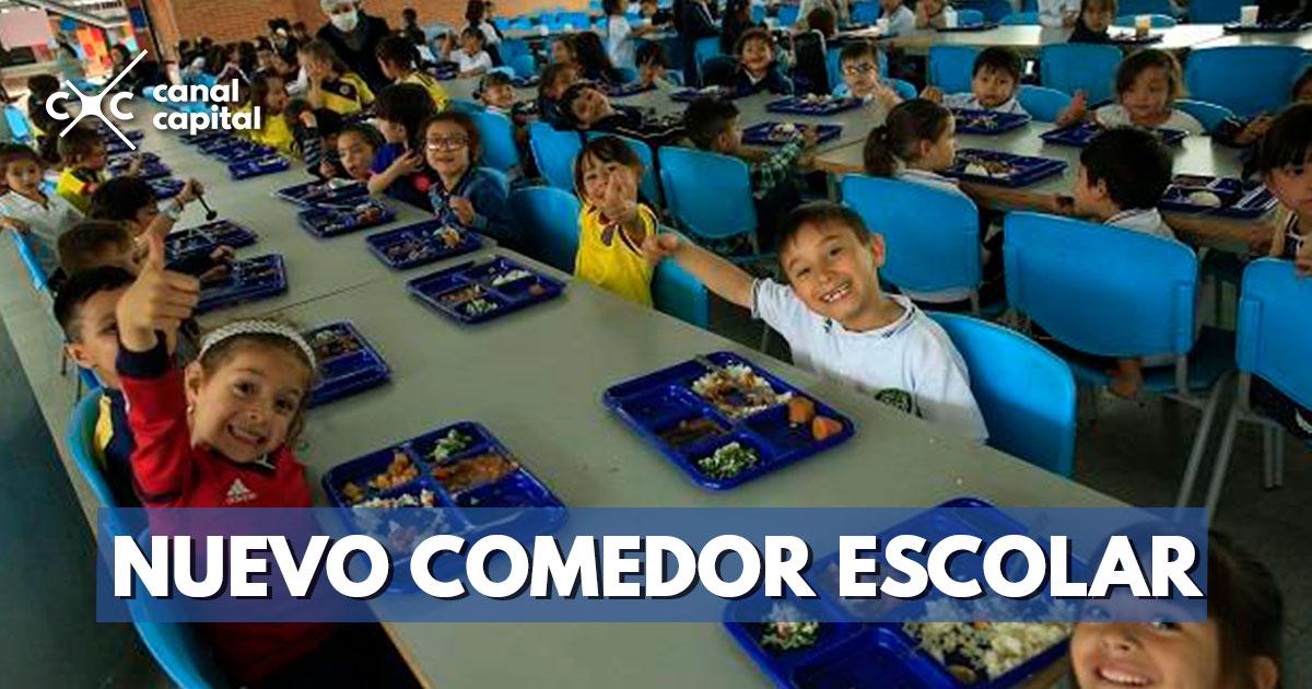 Comedor escolar abre sus puertas en el colegio OEA Antonia Santos ...