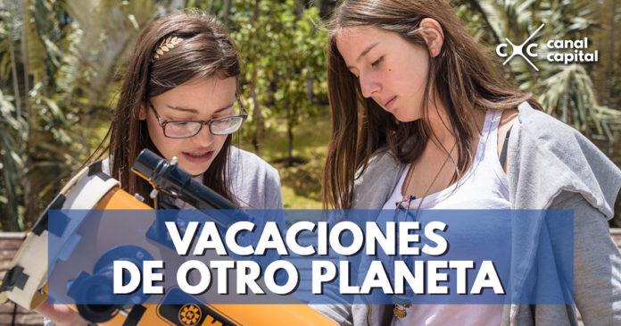 Vacaciones astronómicas en el Planetario de Bogotá