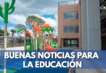 Enrique Peñalosa entrega colegio en Engativá
