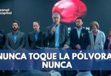 Enrique Peñalosa invita a pasar una navidad sin pólvora