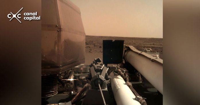 Primeras fotos del robot de la Nasa en Marte