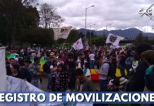 marchas Bogotá