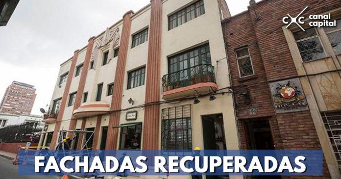 Más de 1.400 fachadas patrimoniales han sido recuperadas en Bogotá
