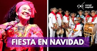 Totó la momposina y los Gaiteros de San Jacinto celebran la Navidad en Bogotá