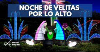 Noche de las Velitas en Cerro de Monserrate
