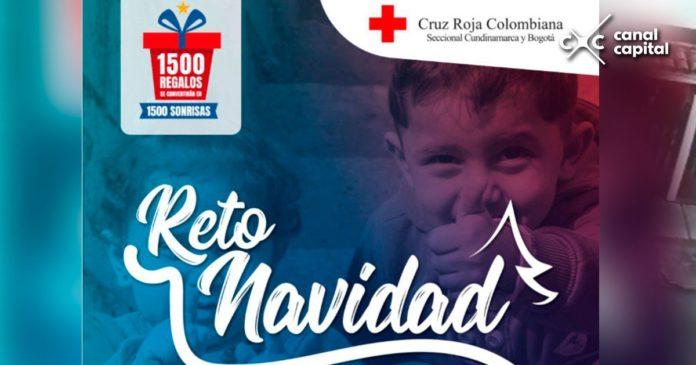 Cruz Roja busca regalos para niños