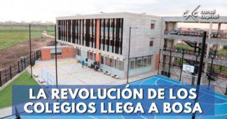 Alcaldía entrega nuevo colegio en Bosa