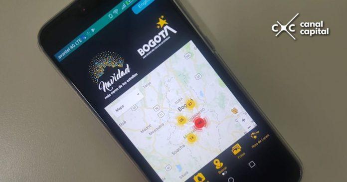 App Navidad Bogotá