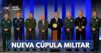 Nueva cúpula militar de Iván Duque
